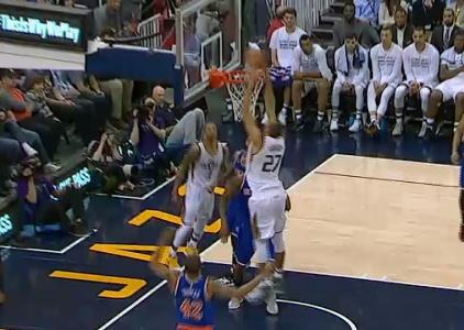 GAME RECAP: Jazz 108, Knicks 101