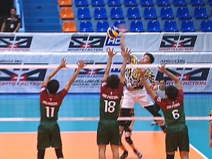 UAAP 79 MEN'S VOLLEYBALL ROUND 2: UST vs UP (S3)