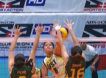 UAAP 79 WOMEN'S VOLLEYBALL ROUND 2: UST vs FEU (S1)