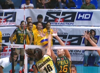 UAAP 79 WOMEN'S VOLLEYBALL ROUND 2: UST vs FEU (S2)