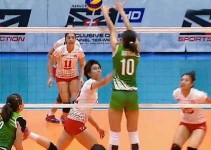 UAAP 79 Women's Volleyball: DLSU vs UE Game Highlights