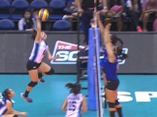 UAAP 79 WOMEN'S VOLLEYBALL ROUND 2: AdU vs ADMU (S1)