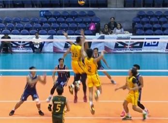 UAAP 79 Men's Volleyball: ADU vs FEU Game Highlights