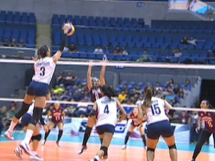 UAAP 79 WOMEN'S VOLLEYBALL ROUND 2: NU vs UP (S1)