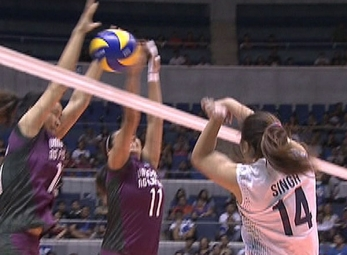 UAAP 79 WOMEN'S VOLLEYBALL ROUND 2: NU vs UP (S2)