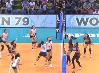 UAAP 79 WOMEN'S VOLLEYBALL ROUND 2: NU vs UP (S3)