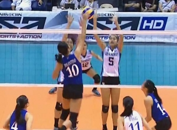 UAAP 79 Women's Volleyball: ADMU vs AdU Game Highlights