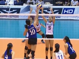 UAAP 79 Women's Volleyball: ADMU vs AdU Game Highlights