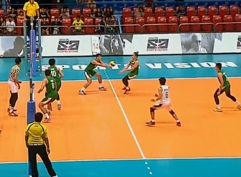 UAAP 79 Men's Volleyball: UST vs DLSU Game Highlights