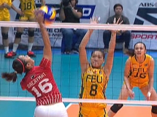 UAAP 79 WOMEN'S VOLLEYBALL ROUND 2: FEU vs UE (S1)