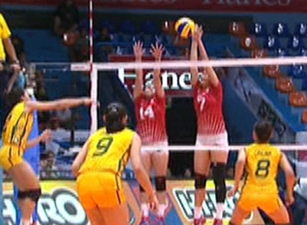 UAAP 79 WOMEN'S VOLLEYBALL ROUND 2: FEU vs UE (S3)
