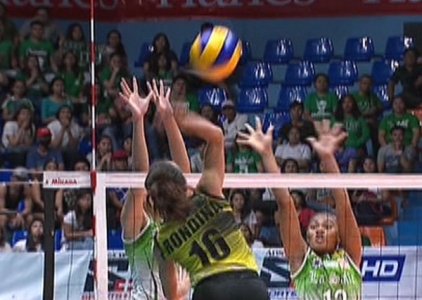 UAAP 79 WOMEN'S VOLLEYBALL ROUND 2: DLSU vs UST (S1)