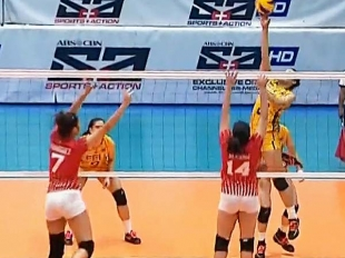 UAAP 79 Women's Volleyball: FEU vs UE Game Highlights