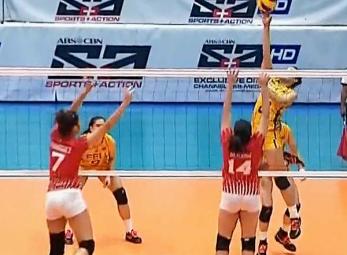 UAAP 79 Women's Volleyball: FEU vs UE Game Highlights