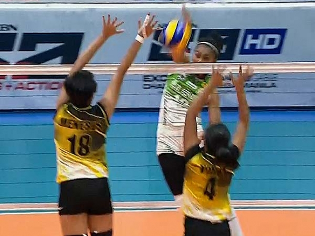 UAAP 79 Women's Volleyball: DLSU vs UST Game Highlights