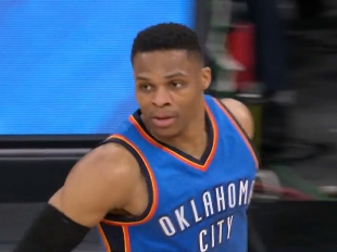 Westbrook sets record with 57 points in latest triple-double