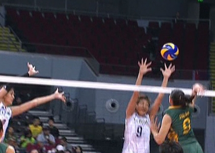 UAAP 79 WOMEN'S VOLLEYBALL ROUND 2: NU vs FEU (S1)