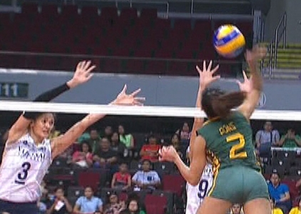 UAAP 79 WOMEN'S VOLLEYBALL ROUND 2: NU vs FEU (S2)