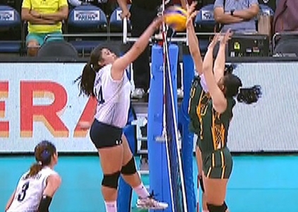 UAAP 79 WOMEN'S VOLLEYBALL ROUND 2: NU vs FEU (S3)