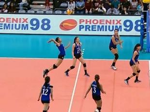 UAAP 79 Women's Volleyball: ADMU vs UE Game Highlights