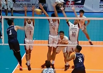 UAAP 79 Men's Volleyball: ADU vs UP Game Highlights
