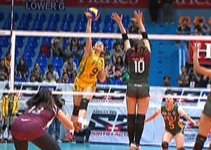 UAAP 79 WOMEN'S VOLLEYBALL ROUND 2: FEU vs UP (S1)