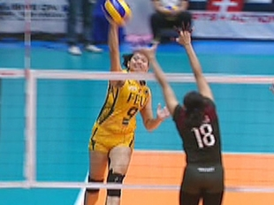 UAAP 79 WOMEN'S VOLLEYBALL ROUND 2: FEU vs UP (S3)