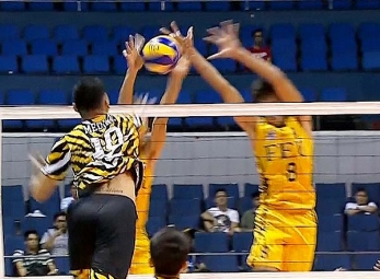 UAAP 79 Men's Volleyball: FEU vs UST Game Highlights