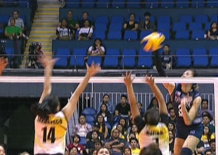 UAAP 79 WOMEN'S VOLLEYBALL ROUND 2: UST vs NU (S1)