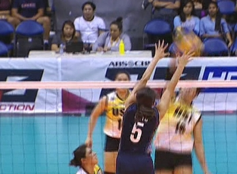 UAAP 79 WOMEN'S VOLLEYBALL ROUND 2: UST vs NU (S2)
