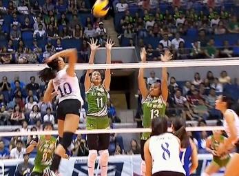 UAAP 79 Women's Volleyball: ADMU vs DLSU Game Highlights