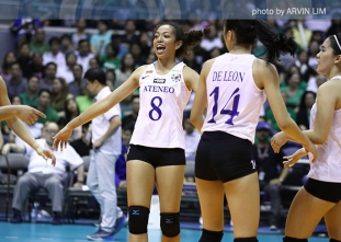 Jules Samonte, Ateneo Lady Eagles' magic bunot