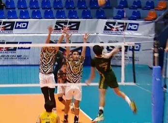 UAAP 79 Men's Volleyball Semifinals: FEU vs UST