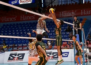 UAAP 79 MEN'S VOLLEYBALL SEMIFINALS: FEU vs UST (S3)