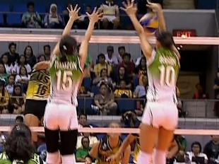 UAAP 79 WOMEN'S VOLLEYBALL FINAL FOUR: DLSU vs UST (S2)