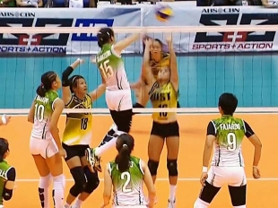 UAAP 79 Women's Volleyball Final Four: DLSU vs UST
