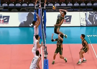 UAAP 79 MEN'S VOLLEYBALL STEPLADDER: NU vs FEU (S1)