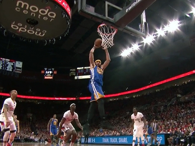 Golden State rallies for 3-0 lead over Portland
