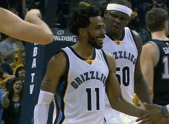 Mike Conley scores 35 as Grizzlies even series with Spurs