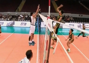 UAAP 79 MEN'S VOLLEYBALL STEPLADDER: NU vs FEU (S4)