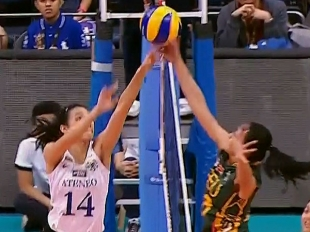 UAAP 79 WOMEN'S VOLLEYBALL FINAL FOUR: ADMU vs FEU (S3)