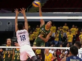 UAAP 79 Men's Volleyball Semifinals: FEU vs NU