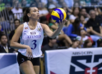 Michelle Morente wins it to send Ateneo back to the Finals!