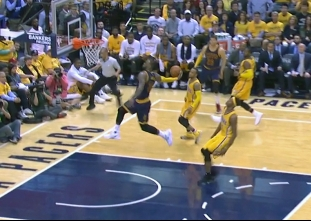 Best plays by LeBron James from round one win vs the Pacers