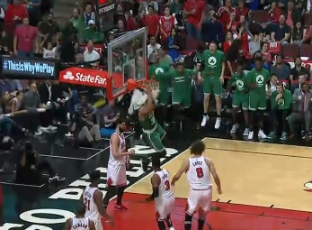 Dunk of the Day - April 24, 2017