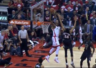 Raptors' top slams in game five vs the Bucks