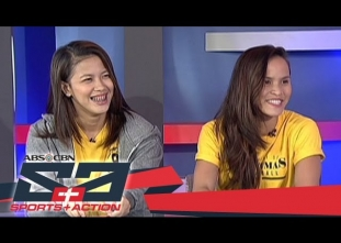 Tigresses EJ Laure, Sisi Rondina talk about UAAP 79 journey