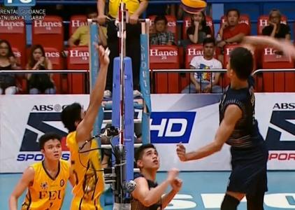 UAAP 79 MEN'S VOLLEYBALL STEPLADDER: FEU vs NU (S1)