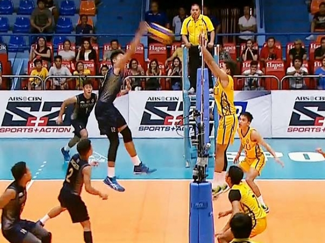 UAAP 79 Men's Volleyball Semifinals: NU vs FEU