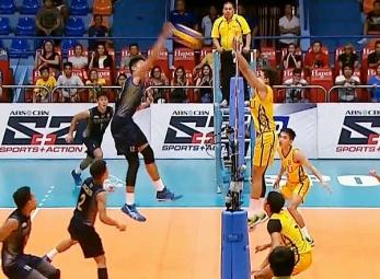 UAAP 79 Men's Volleyball Semifinals: NU vs FEU